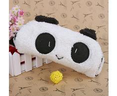 Demarkt Trousse Velouteuse de Stylo Cosmétique et Cartes en Forme de Panda