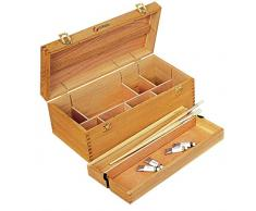 Artcoe Grande boite de rangement en bois