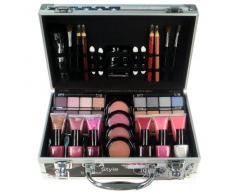 Gloss! Mallette de Maquillage - Coffret 60 Pièces de Cosmétiques