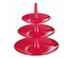 Koziol Babell L - Etagère - rouge framboise/3 étages/H: 34cm