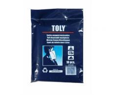 Toly - Gant de toilette jetable - Extra doux - 10pcs - Gants - Sorties de bain - Serviettes