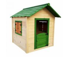 Maisonnette en bois pour enfants Outdoor Toys Kela 138x116x132 cm - Maisons de jardin