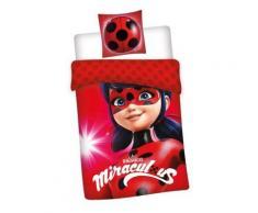 Miraculous Ladybug - Parure de Lit Enfant - Coton - Linge de lit
