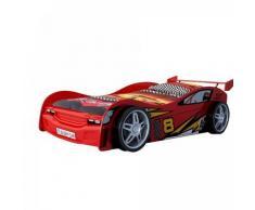 Vipack Funbeds Lit voiture Night Racer rouge - Lit pour enfant