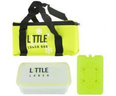 Lunch Bag Panier Repas Isotherme Box Fraicheur avec Pain de Glace Vert - Autres
