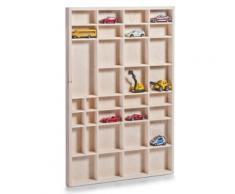 Zeller - 2056691 - étagère en pin pour collections - 60 x 3,5 x 40 cm - Accessoires de rangement