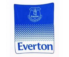 Everton FC - Couverture polaire (Taille unique) (Bleu) - UTSI363 - Linge de lit