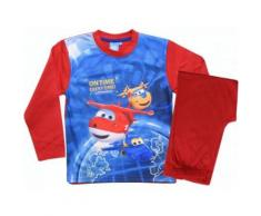 Nickelodeon Super Wings Pyjama garçon rouge - Range pyjama