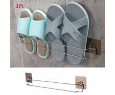 Une seule couche Slipper Organisateur de stockage Support mural pour rack Chaussures pour Living Room Kiliaadk596 - Boite de rangement