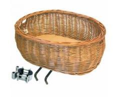 Basil bas8f panier avant de vélo pour chien -adulte unisexe brun naturel - Equipements et accessoires de cyclisme