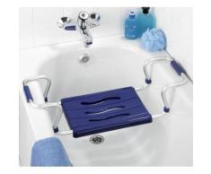 Siège de baignoire bleu - bleu - Accessoires de rangement