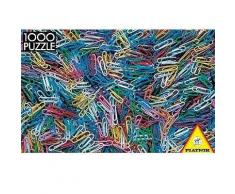 Puzzle 1000 pièces - Trombones - 1000 pièces