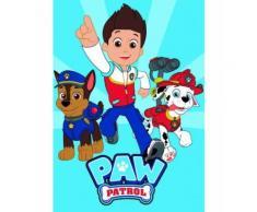 Nickelodeon couverture polaire Paw Patrol 100 x 140 cm bleu - Linge de lit