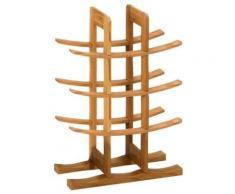 Zeller 13580 range-bouteilles bambou, 29 x 16 x 42 cm - Ustensiles