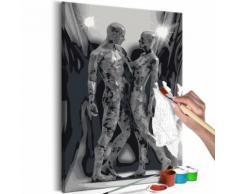 40x60 Tableau à peindre par soi-même Kits de peinture pour adultes Esthetique même - Décoration murale