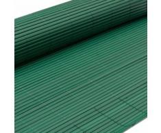 eyepower Canisse en PVC 90x400cm rouleau en plastique brise vue pare soleil coupe vent clôture bar - Accessoires pose sol terrasse et jardin