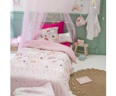 Parure de lit enfant Mimi Licorne 140x200 cm - Linge de lit
