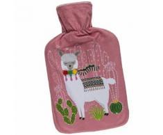 Bouillotte rose Lama - Accessoires de bain
