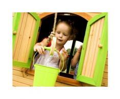 Cabane enfant bois Sophie - 3.77 x 2.00 x 2.74 m - Maisons de jardin