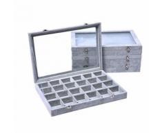 Bureau Boîte de rangement cosmétiques Soins de la peau Produits en plastique Support de rangement BT088 - Accessoires de rangement