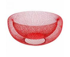 Corbeille à Fruits Mesh 27cm Rouge - Accessoires de rangement