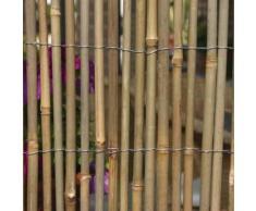 Canisse 3 x 1.5 m en cannes de bambou entières EG54215 - Accessoires mobilier de jardin