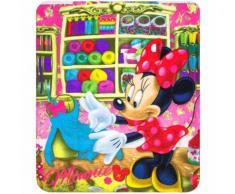 Plaid polaire Minnie Mouse couverture enfant couture - Textile séjour