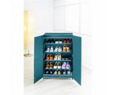 Armoire à chaussures en tissus - 15 paires - 61 x 90 cm - Meubles à chaussures