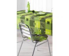 Galette de chaise 4 Rabats 36x36 PROVENCIA anis - Rideaux et stores