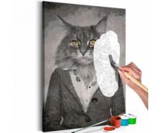 40x60 Tableau à peindre par soi-même Kits de peinture pour adultes Stylé même - Décoration murale