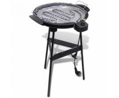 Barbecue Electrique Grille Ronde - Cuisiner en extérieur