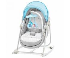 Berceau pour bébé 5 en 1 pliable Unimo Kinderkraft Bleu - Balancelles