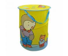 petit meuble de rangement - casier - panier Fun House T'choupi sac a linge pop up pour enfant - Caissons et casiers de bureau