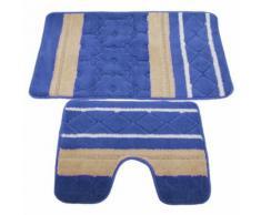 Ensemble de tapis de bain et contour de lavabo - UTBR287 - Tapis et paillasson