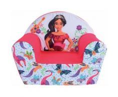 FUN HOUSE Disney Elena D'AVALOR Fauteuil Club pour Enfant, Housse Polyester/Mousse Polyether, 52 x 33 x 42 cm - Décoration de chambre