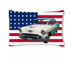 Coussin USA cars Cbkreation - Rideaux et stores