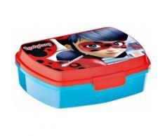 Boite à gouter Miraculous Ladybug Marinette Lunch box enfant déjeuner plastique - Boîtes de conservation