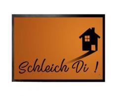 Humour Paillasson Essuie-Pieds - Schleich Di (50x70 cm) - Tapis et paillasson