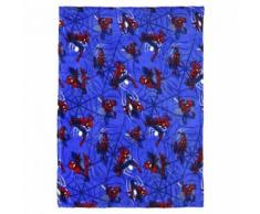 Marvel couverture polaire Spider-Man 120 x 160 cm bleu - Linge de lit