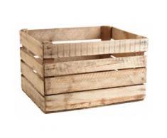 Aubry Gaspard - Caisse en bois rustique - Boite de rangement