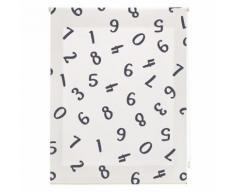 Store à enrouleur translucide à Impression numérique , enfant, Numéros, 120x250 cm. Toutes tailles. - Rideaux et stores