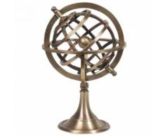Décoration Globe Terrestre armillaire - Objet à poser