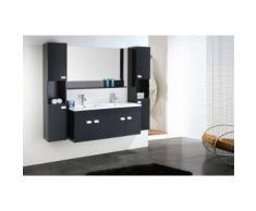 MEUBLE SALLE DE BAIN BLANC VASQUE LUXE, LAVABO ,mod. Elegance 120 cm - Installations salles de bain