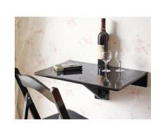 SoBuy® FWT03-Sch Table murale rabattable Table de cuisine pliante, Table à rabat pour enfant pliable - Tables de cuisine