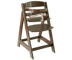 Roba - 7562bg la chaise haute à marche sit up iii chaise bébé, marron - Chaises hautes et réhausseurs