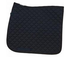 HORKA tapis de selle dressage noir 55 x 50 cm - Toilettage du cheval