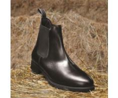 Mark Todd Toddy - Bottines d'équitation Jodphur zippées - Enfant (29) (Noir) - UTTL2156 - Bottes de sport