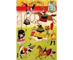 Utagawa Hiroshige Papier Peint Photo/Poster Autocollant - Grand Cirque Français Sur l'Emplacement Du Sanctuaire De Shokonsha, 1871 (180x120 cm) - Décoration murale