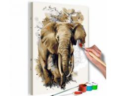 40x60 Tableau à peindre par soi-même Kits de peinture pour adultes sublime même - Décoration murale