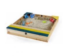 Plum - Bac à sable en bois avec coffre de rangement intégré - Bac à sable